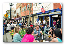Front cover of the Placemaking Guidebook. Photo by Leisa Thompson, courtesy of the City of Ann Arbor, DDA